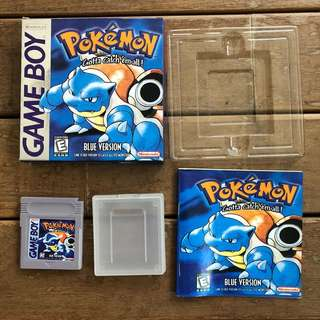 Non-orig Pokemon Blue Gameboy