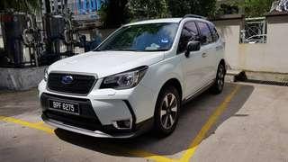 Kereta Sewa Murah - Subaru Forester 2018