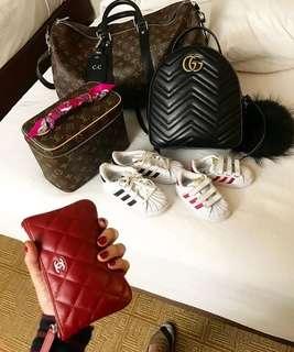 Chanel/gucci/LV
