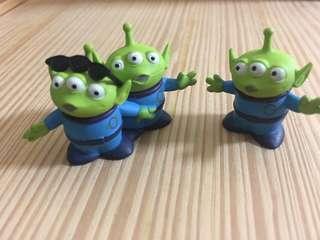 🚚 玩具總動員3 扭蛋 人物場景系列-三眼仔/三眼怪/艾倫