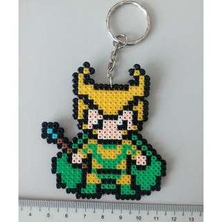 Loki Mini Beads Keychain