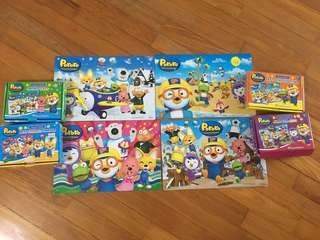 Pororo Puzzles complete set