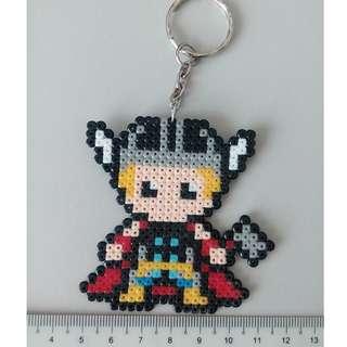 Thor Mini Beads Keychain