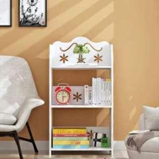 現代簡易落地多層組合架(書櫃/客廳/睡房) 菊花款