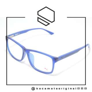 Frame Kacamata Original PUMA 0009OA Paket Free Gratis Lensa Bahan Plastik
