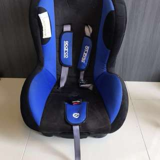 Sparco turbo baby car seat