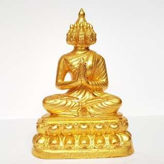 Phra Sethi Nawagot (九面佛) - Phra Kao Na bucha statue - Wat Yannawa