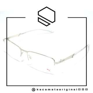 Frame Kacamata Original PUMA 0094O Paket Free Gratis Lensa Bahan Stainless Steel Kotak