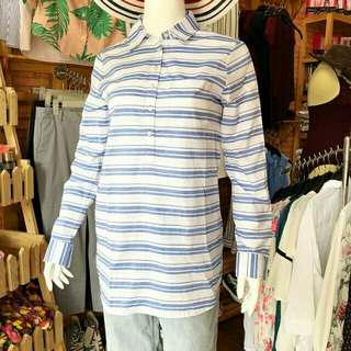 TOMMY HILFIGER STRIPED TUNIC