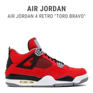 Jordan 4 Retro Toro Bravo UA 1:1