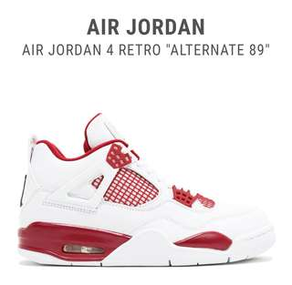 Jordan 4 Retro Alternate 89 UA 1:1