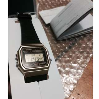 100% Original and Brand New Limited Edition Casio Vintage Watch