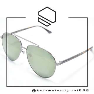 Kacamata Sunglass Original GUCCI 0043SK Model Aviator Made in Italy