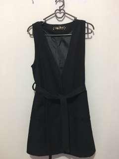 Jaket tanktop hitam