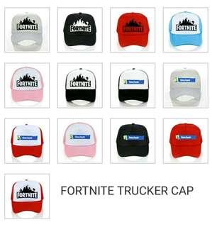 Fortnite trucker cap custom colors hat