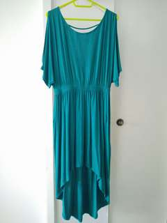 Emerald Grecian Dress