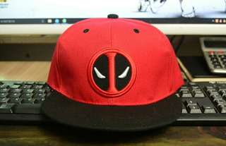 3 Styles Fancy&Fantasy Anime Comic Marvel Deadpool Hip Hop Caps Summer Cotton Cap Hat For Men Women