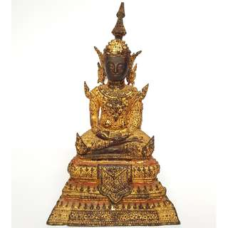 200+ year-old Rattanakosin Buddha statue bucha