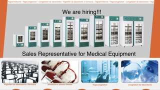 Sales Representative for Medical Equipment