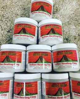 ORIGINAL FROM HEALTHY OPTIONS AZTEC INDIAN HEALING CLAY MASK