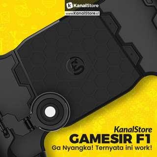 GameSir F1 Joystick Grip With Adjustable Swing Arm MOBAPAD MOBA ML - Hitam