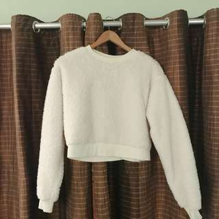 Forever 21 Faux Fur Sweater