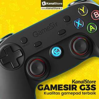 Stik Gamepad Wireless GAMESIR G3S for Android, PS3, Game PC, & VR Box