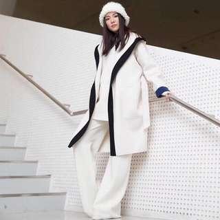 Maxmara羊毛大衣 90%羊毛10%羊絨