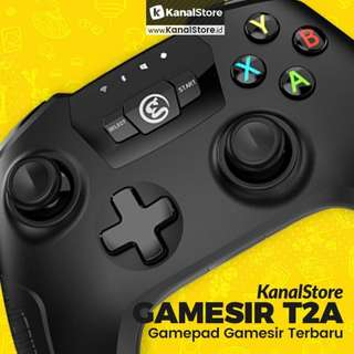 Stik Gamepad Wireless GAMESIR T2A for Android, PS3, Game PC, & VR Box