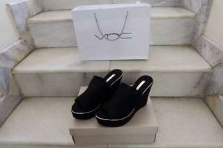 Vnc black wedges