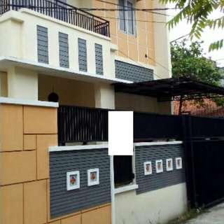 Rumah kostan di duren sawit Jakarta Timur