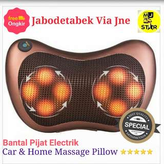Bantal Pijat Elektrik Car n Home Massage