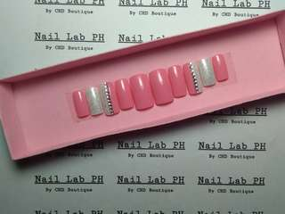 The Bride faux nails fake nails false nails customize preaa on nails