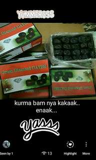 Kurma Bam Green Diamonds