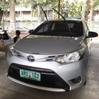 Toyota Vios 2014 1.3j low mileage m/t