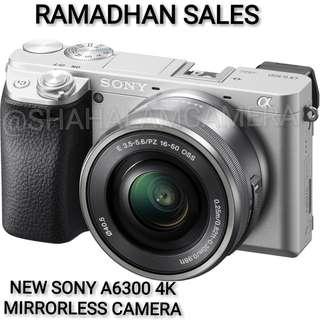 (NEW) SONY A6300 4K + 16-50MM OSS LENS