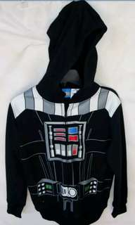 STAR WARS KID'S HOODIE ZIPFRONT 4 YEARS (NEW).