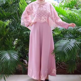 Gamis aisya all size