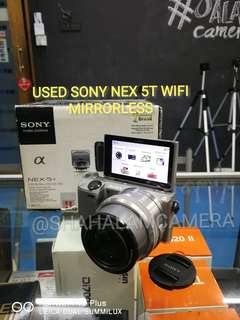 (USED) SONY NEX 5T WIFI + 16-50MM OSS LENS