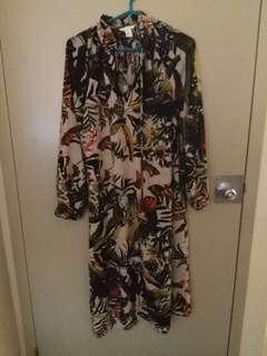 🌷 h&m floral maxi dress