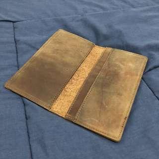 Dompet kulit panjang pria wallet