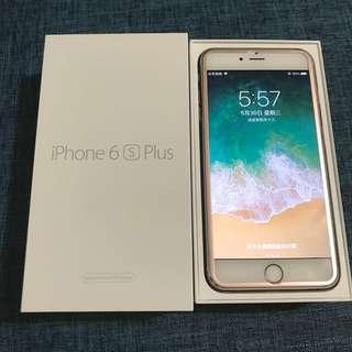 🚚 iPhone 6s Plus 玫瑰金 16g 保固中