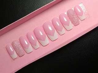 Sugar Kiss! fake nails faux nails false nails customize press on nails