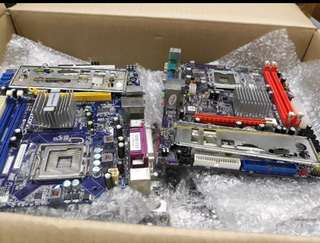 Motherboard G31 socket 775 ddr2 mulus