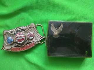 Harley Davidson皮帶扣(全新)