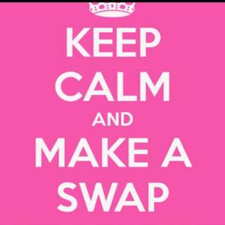 Let's Swap Our Stuffs !!!