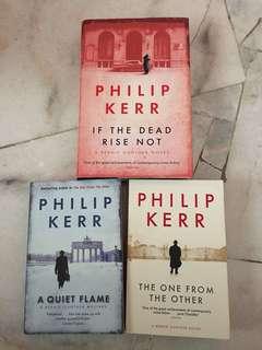 Philip Kerr Series Thrillers