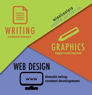 Writing * Graphic * Web Design Services