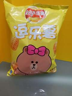 Lay's × Line Friends Choco 逗樂薯 焦糖布丁味 (70g)