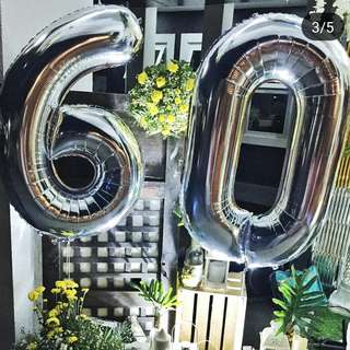 """40"""" foil numbers"""